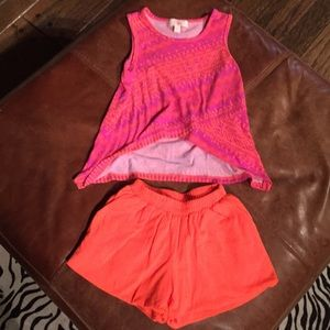 Tank Top & Shorts girl outfit